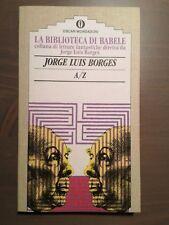 Biblioteca di babele Borges A/Z Mondadori su licenza Franco Maria Ricci 1991