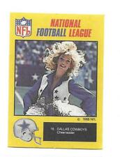 New listing 1988 Monty Gum Dallas Cowboys Cheerleader  # 18 NRMT+
