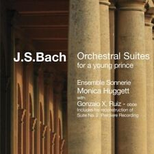 ENSEMBLE SONNERIE/+ HUGGET - ORCHESTRAL SUITES FOR A YOUNG PRINCE  CD NEUF BACH