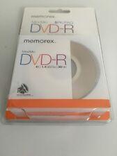 Memorex Mini DVD-R 1.4 GB 30 min - 5 pack - sealed new