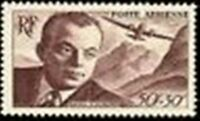 "FRANCE TIMBRE STAMP AVION N° 21 "" ANTOINE DE SAINT-EXUPERY "" NEUF XX LUXE"