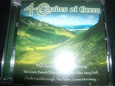 40 SHADES OF GREEN Various 2 CD (Daniel O'Donnell Foster & Allen Mary Duff) – Li