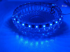 Tira de Luz LED Flexible Impermeable 30cm 15LED 3528 SMD 12V Para Coche