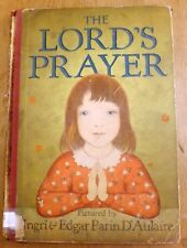 """The Lord's Prayer"" Pictured by Ingri & Edgar Parin D'Aulaire Published 1934"
