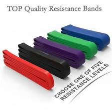 2020 Exercise Bands Latex Resistance Elastic Band - Pull Up Assist Bands Fitness