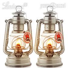 2 x Feuerhand Storm Linterna 276 sin hl1 Lámpara de petroleo Outdoor Alkan 1A