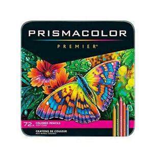Sanford Prismacolor Premier Colored Pencils, Soft Core, 72 Pack