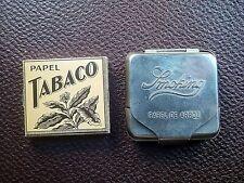 Cartine vintage per sigarette + portatabacco. cigarettes papers.
