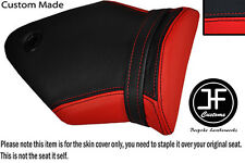 RED AND BLACK VINYL CUSTOM 2009-2011 FITS BMW S 1000 RR REAR PILLION SEAT COVER