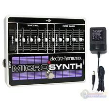 Electro-Harmonix Micro Synthesizer XO Analog Guitar Microsynth w/ Power Supply