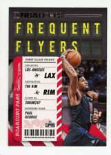2020-21 Panini Hoops #6 PAUL GEORGE Los Angeles Clippers FREQUENT FLYERS INSERT