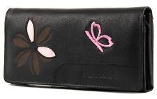 bruno banani Butterfly Damenbörse Geldbörse Portemonnaie Schwarz Black Damen Neu