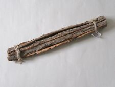 10 Natural Wood Bark Sticks Flower Arranging  Arts and Crafts  50cm long