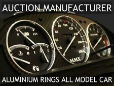 Toyota Celica T180 1989-1993 Polished Aluminium Dial Surrounds Speedo Rings 3pcs