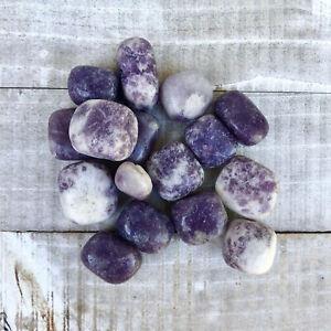 ONE Tumbled Lepidolite Polished Stone