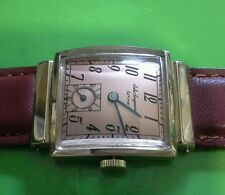 Jules jurgensen watch,14k solid gold, mens, vintage   keeps time,