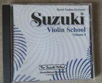 Suzuki Violin CD Vol 4