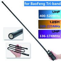42'' ABBREE Tri-Band Tactical Antenna for Baofeng UV-5R III BF-R3 Two Way Radio
