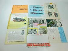 BP446-1 # 7 X Märklin H0 Bastler-Katalog 1951+ 1960/61+1961/62 Etc. Incompleta