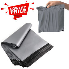 GREY Postal Post Packaging Bags Plastic Parcel Mailing Packing Postage Self Seal
