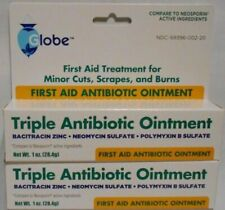First Aid Triple Antibiotic Ointment 1oz - 2 Tubes