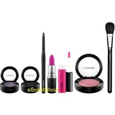NIB MAC LOOK IN A BOX FACE KIT SULTRY DIVA 7 PIECE FUL SIZE SET LIMITED EDITION