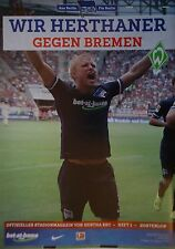 Stadionmagazin 2015/16 Hertha BSC Berlin - Werder Bremen