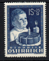 Austria 1s + 25g Stamp April 1949 Unmounted Mint Never Hinged (3)