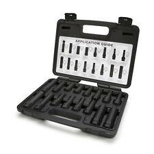 STEELMAN 78537 16-Pc Locking Lug Nut Master Set Wheel Lock Key Removal Tool Kit