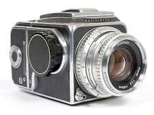 Hasselblad 500C Medium format 6X6 Camera w/ 80mm F2.8 Planar A12 Back + WLF #679