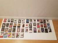 Vintage Lot of 45 Retro 80s Rock, R&B & More Cassette Tapes, Amazing Rare!