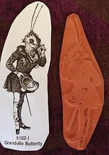 Grandville Butterfly... - Unmounted Rubber Stamp