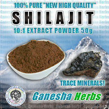 CERTIFIED SHILAJIT HIGH POTENCY 20:1 EXTRACT POWDER TRACE MINERALS FULVIC ACIDS
