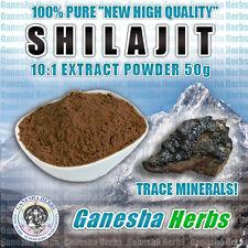 Shilajit Extract 50% Fulvic Acid (20:1) High Potency 50 grams 100% Genuine