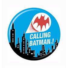 Calling Batman Button White