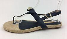Louise et Cie Women's Adrean Thong Flat Sandals Size 6 M, Navy Blue 2776