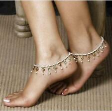 Female Magnificent Fashion Sexy Purl Beads Elastic Chain Anklet Christmas Gift