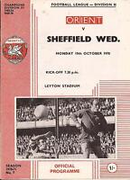 Football Programme - Charlton Athletic v QPR - Div 2 - 31/3/1970