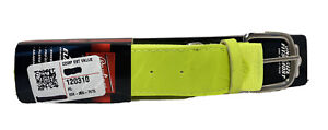 "NEW Rawlings Adjustable Baseball/Softball Belt Adult NEON Yellow 32""-46"" Waist"