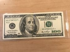 2006 US $100✨ DOLLAR NOTE (STAR) CRISPY RARE NOTE REPLACEMENT STAR ⭐⭐⭐