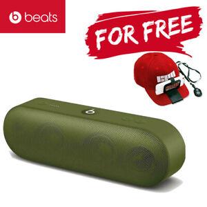 Beats Pill+ Portable Wireless Bluetooth Speaker - Turf Green + Free Gift