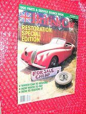 British Car magazine #22 December 1989  Restoration Special Edition