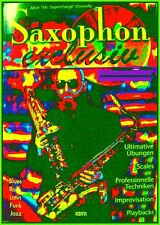 SAXOPHON & ALBIE DONNELLY ULTIMATIV Workbook A-Z Improvisation Techniken Scales