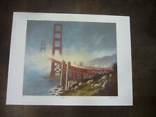 gateway art print lithograph signed by artist and numbered