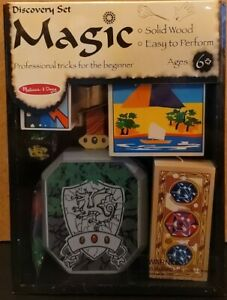 Melissa & Doug Discovery Magic Set Brand New In Box Sealed Solid Wood #1280