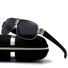 HD Mens Polarized Sunglasses Outdoor Driving Eyewear Pilot HD Sports Sun Glasses