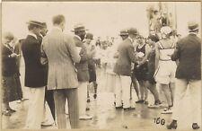 Mode balnéaire Compétition Plage France Photo Vintage argentique vers 1920