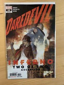 Daredevil #20 (vol. 6) Julian Totina Tedesco Cover, Marvel Comics, Mint (2020)