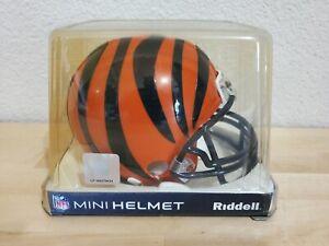 NEW GENUINE NFL CINCINNATI BENGALS RIDDELL NFL MINI HELMET