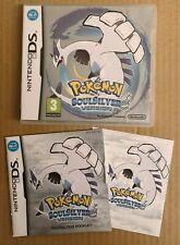Nintendo DS Pokemon SoulSilver - Game & Manual Only